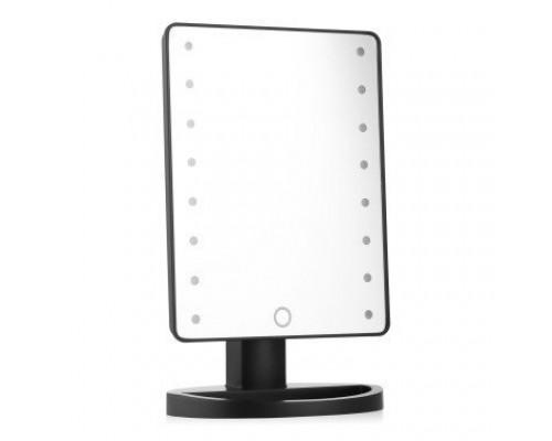 Зеркало косметическое для макияжа с подсветкой светодиодами ЗМ-Ч