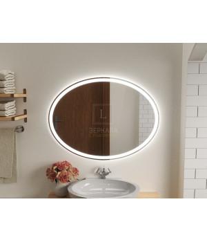 Зеркало в ванную комнату с подсветкой светодиодной лентой Ардо